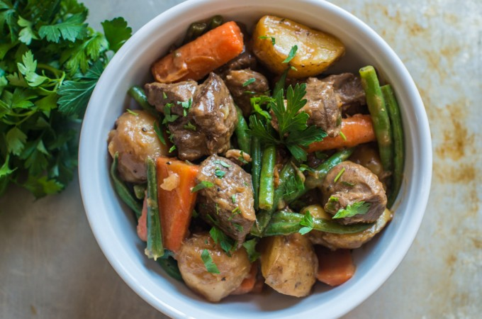 Lamb Stew with Vegetables