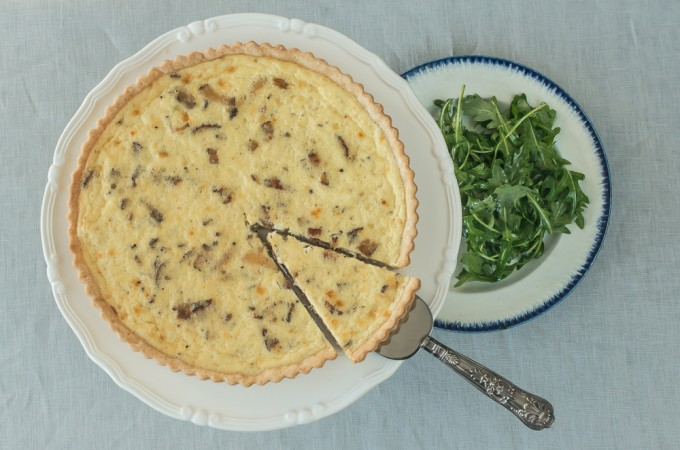 Bacon and Gruyere Quiche