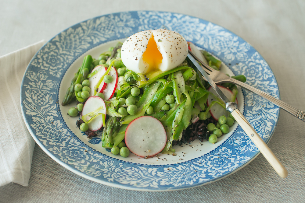 Mead Meadow - Soft Boiled Egg Spring Salad