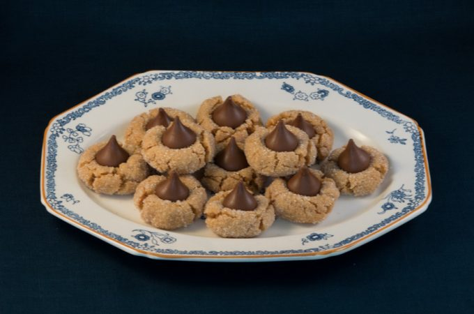 Peanut Butter Blossom Cookie