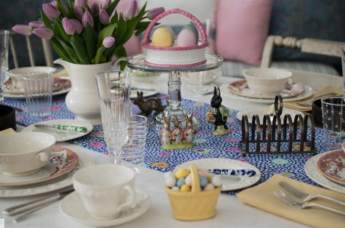 Easter Tablescape 2017 at Mead Meadow