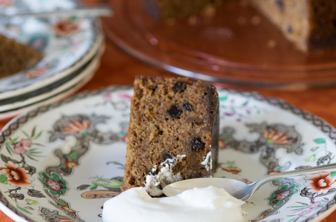 Gingersnap Pudding Cake